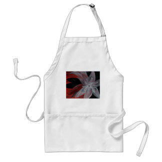 Abstract Floral Standard Apron