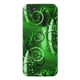 Abstract Floral Swirl Vines Green Girly Gifts Case For iPhone 5/5S