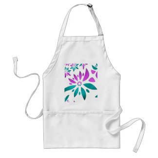 abstract flower aprons
