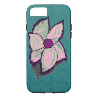 Abstract Flower Art by Serena iPhone 7 case