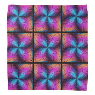 Abstract Flower Bandana