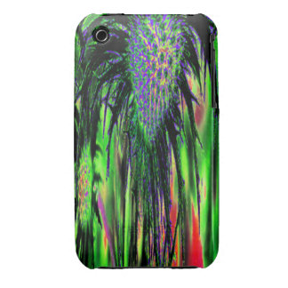 Abstract Flower Case-Mate iPhone 3 Cases