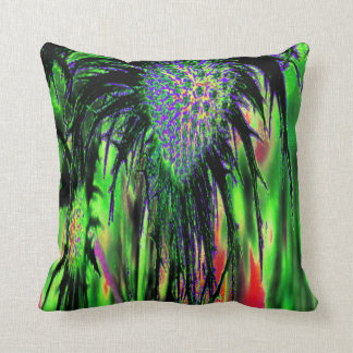 Abstract Flower Cushions