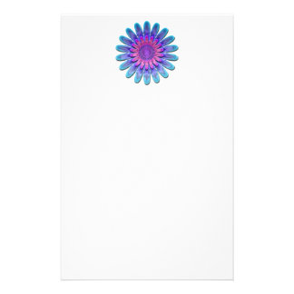 Abstract flower. customized stationery