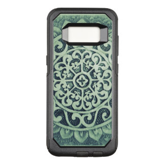 Abstract Flower Design OtterBox Commuter Samsung Galaxy S8 Case