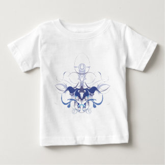 Abstract flower elements baby T-Shirt