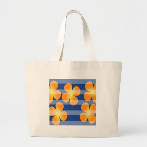 Abstract Flower Flower Stamps Bag