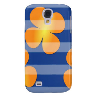 Abstract Flower Flower Stamps HTC Vivid / Raider 4G Cover