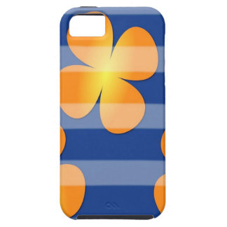 Abstract Flower Flower Stamps iPhone 5 Cases
