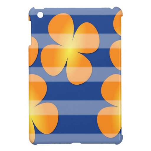 Abstract Flower Flower Stamps iPad Mini Cover