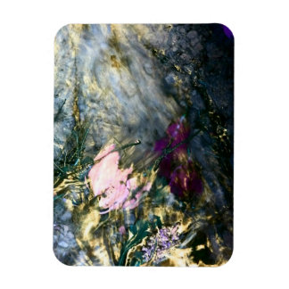 Abstract Flower in Water Magnet