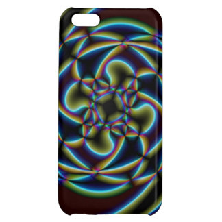 Abstract Flower Cover For iPhone 5C