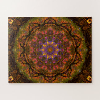 Abstract Flower Jigsaw Puzzle