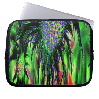 Abstract Flower Laptop Computer Sleeves