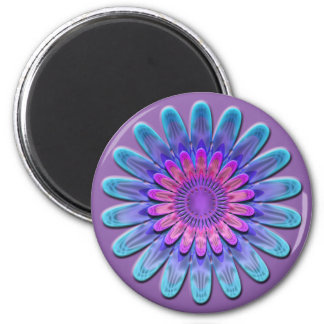 Abstract flower. magnet