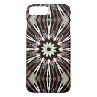 Abstract Flower Mandala iPhone 7 Plus Case