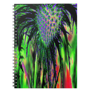 Abstract Flower Notebooks