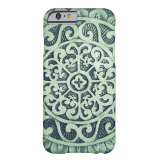 Abstract Flower Pattern Barely There iPhone 6 Case