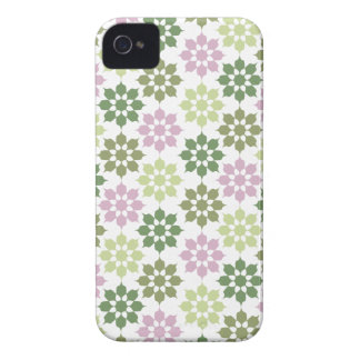 Abstract Flower Pattern iPhone 4 Case-Mate
