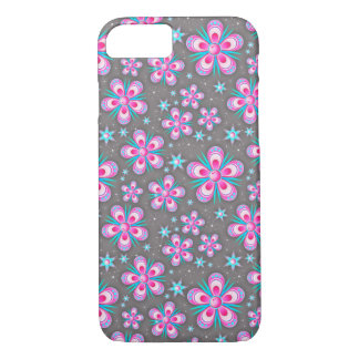 Abstract Flower Pattern iPhone 7 Case
