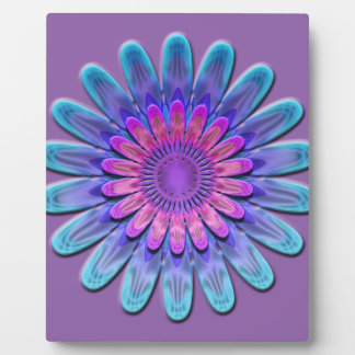 Abstract flower. plaque