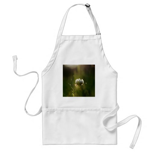 Abstract Flower Rush Of Light Aprons