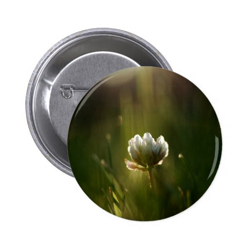 Abstract Flower Rush Of Light Pin