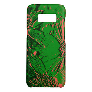 Abstract Flowers 1 Case-Mate Samsung Galaxy S8 Case