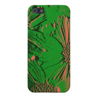 Abstract Flowers 1 Cute Floral iPhone 5 Case