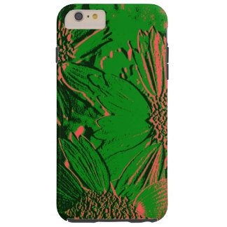 Abstract Flowers 1 Cute Floral Tough iPhone 6 Plus Case