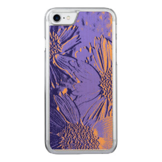 Abstract Flowers 2 Cute Floral Carved iPhone 8/7 Case