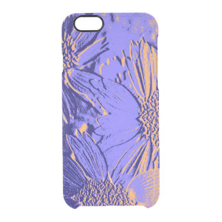 Abstract Flowers 2 Cute Floral Clear iPhone 6/6S Case