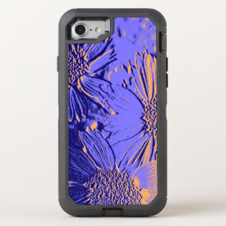 Abstract Flowers 2 Cute Floral OtterBox Defender iPhone 8/7 Case