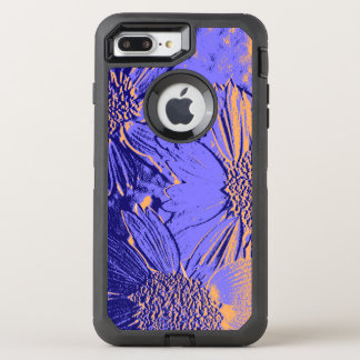 Abstract Flowers 2 Cute Floral OtterBox Defender iPhone 8 Plus/7 Plus Case
