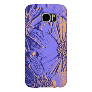 Abstract Flowers 2 Cute Floral Samsung Galaxy S6 Cases