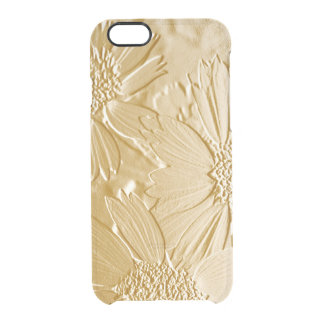 Abstract Flowers 4 Cute Floral Clear iPhone 6/6S Case