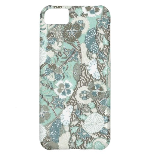 Abstract Flowers iPhone 5C Covers