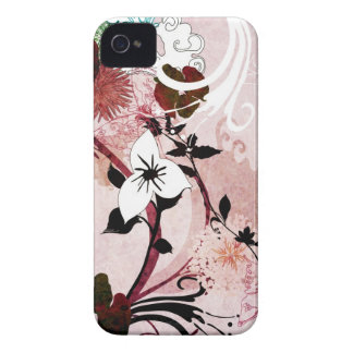 Abstract flowers Case-Mate Case Case-Mate Blackberry Case