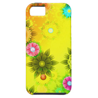 abstract Flowers Colorful iPhone 5 Covers