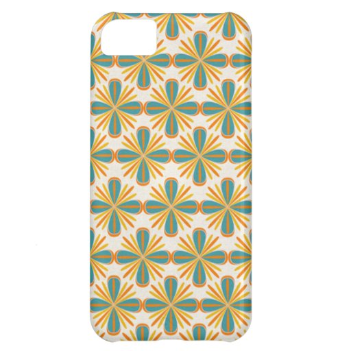 Abstract flowers iphone4 case case for iPhone 5C