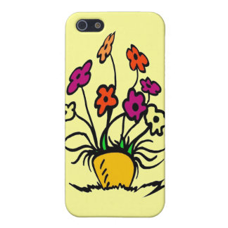 Abstract Flowers iPhone 5 Case