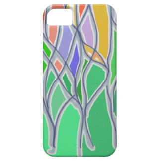Abstract Flowers Phone Case