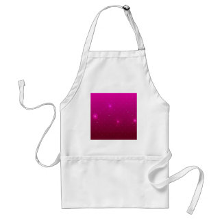 Abstract Flowers Purple Relax Apron