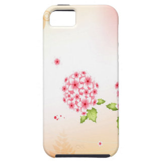 Abstract Flowers Warm Colors Hortense iPhone 5 Cover