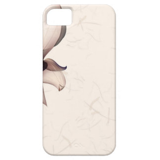 Abstract Flowers Warm Colors Pip Case For The iPhone 5