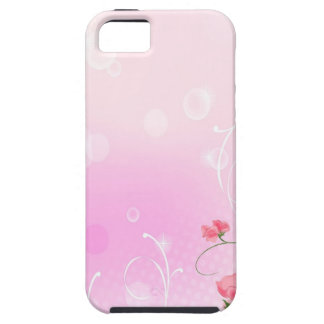 Abstract Flowers Warm Colors Romance Abstract Tough iPhone 5 Case