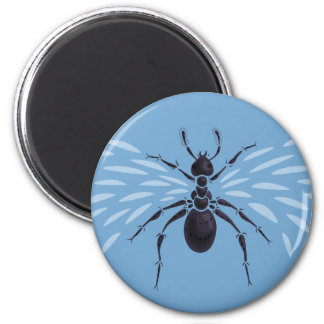 Abstract Flying Ant With Wings Magnet