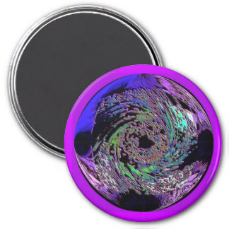 Abstract foil magnet