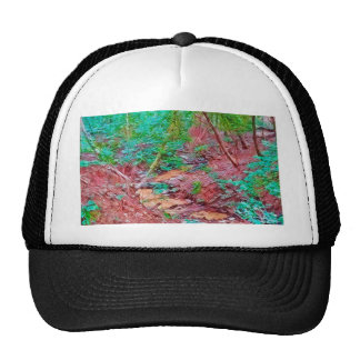 Abstract Forest Cap