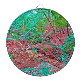 Abstract Forest Dartboard